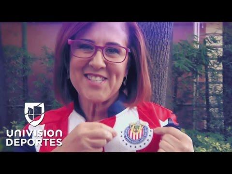La periodista Georgina González se hizo aficionada de Chivas por el apodo de un jugador