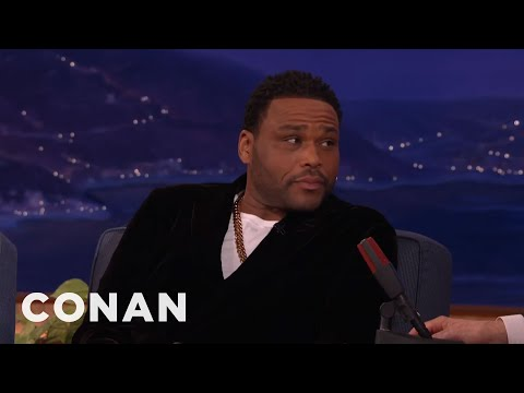 Anthony Anderson's Mom Taught Him How To Perform Oral Sex   CONAN on TBS