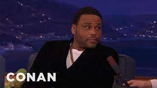 connectYoutube - Anthony Anderson's Mom Taught Him How To Perform Oral Sex  - CONAN on TBS