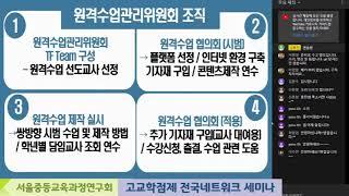 고교학점제 전국네트워크 세미나   서울여고