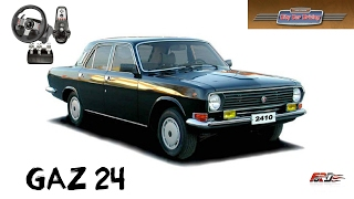 ГАЗ 24 ВОЛГА тест-драйв, обзор автомобиля бизнес класса СССР City Car Driving