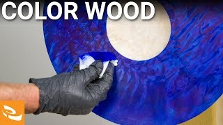 Dyeing and Coloring Wood (Woodturning How-to)