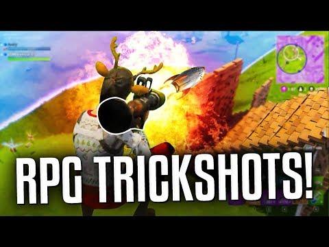 RPG TRICKSHOTS! - Fortnite Battle Royale