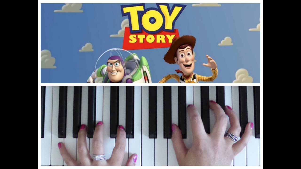 You Ve Got A Friend In Me From Toy Story Easy Piano Tutorial Youtube