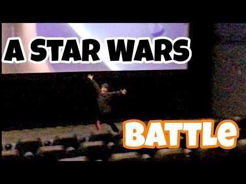 Leland Runs Around In Theater During Star Wars The Last Jedi