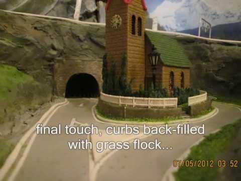 Church scale model