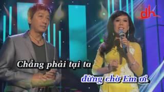 LK Vòng Tay Nào Cho Em & Vì Trong Nghịch Cảnh  karaoke moi nam