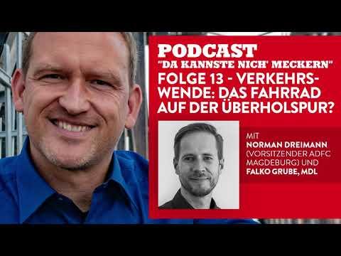 Podcast - Folge 13 - Verkehrswende: Das Fahrrad auf der �berholspur? (mit Norman Dreimann)