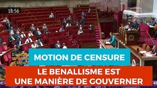 «LE BENALLISME EST UNE MANIÈRE DE GOUVERNER» - Mathilde Panot