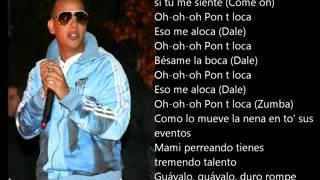 Daddy Yankee   Pon T Loca Original Con Letra