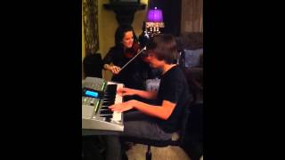 Edelweiss in G on Piano and Violin