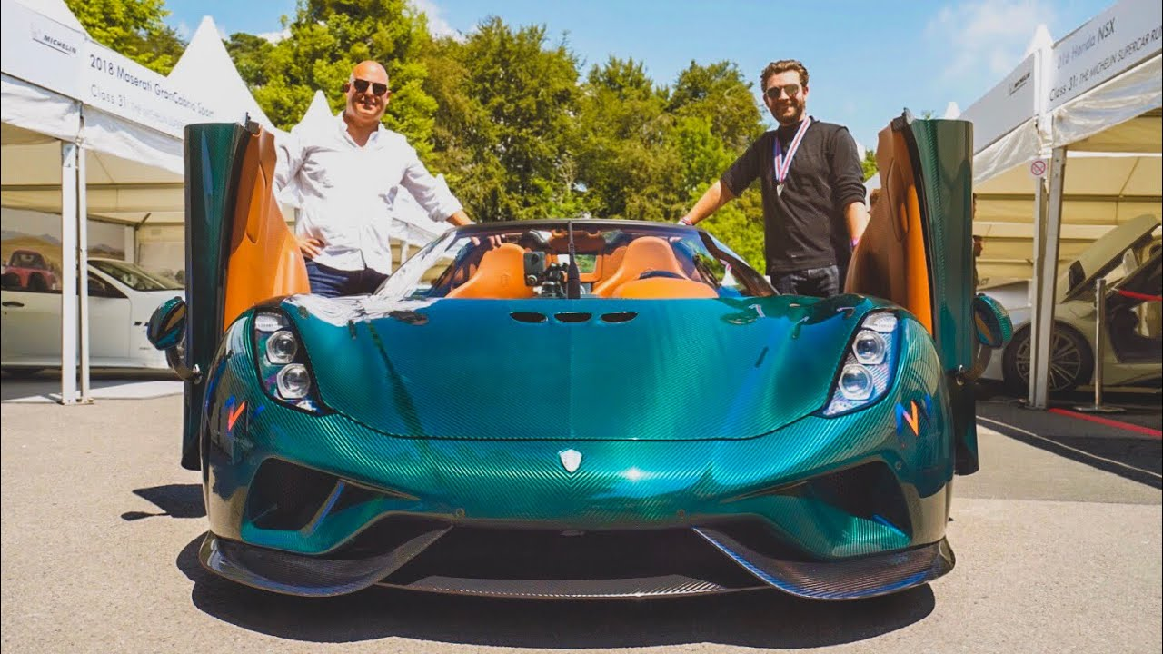 NEW Koenigsegg Regera FIRST DRIVE In The £1.5M Hypercar! Video