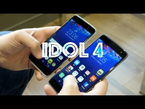 Alcatel Idol 4 + 4S  hands on - Best mid-range phones at MWC?