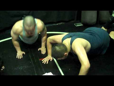 Conditioning For Wrestlers: Deck of cards workout.