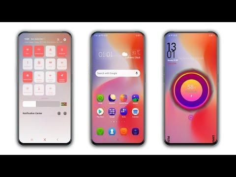Oppo Realme New Theme Orange Blast For All Color Os Phones