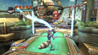 Playstation Move Heroes: Sly Cooper Challenge Mode Walkthrough [HD]