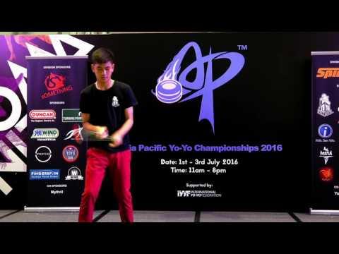Garbkamol Limangkul (TH): 1A Division Prelim  - Asia Pacific Yo-yo Championships 2016