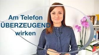 Am Telefon überzeugend wirken - Kommunikation mit Kunden - Kundenservice