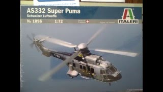 Italeri AS 332 Super Puma Helicopter Part 2 of Dick Tracy Space Coupe
