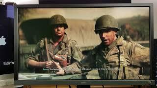 TESTING XBOX ONE X Enhanced Games on BenQ EL2870U 4K HDR Monitor