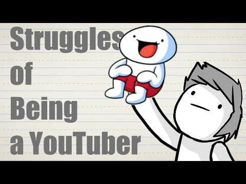 Thumbnail: Struggles of Being a YouTuber (feat. theodd1sout)