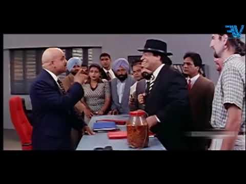 BOLLYWOOD Best Comedy Scene 2    Kader Khan in London    Hero Hindustani