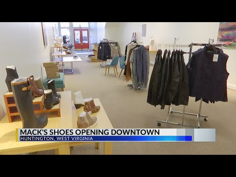 Mack's Shoes Coming To Downtown Huntington