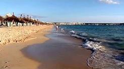 Sonne, Strand, Meer - Playa de Palma, Strand Ballermann 10, Mallorca