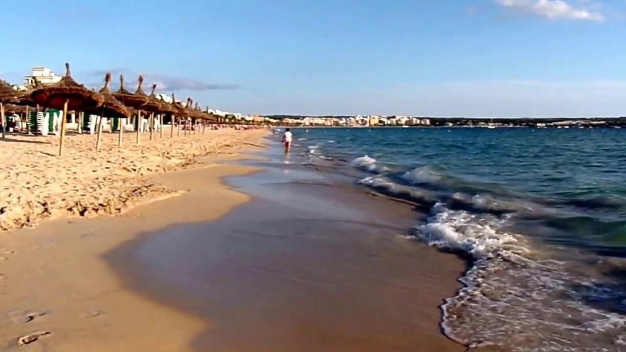sonne strand meer playa de palma