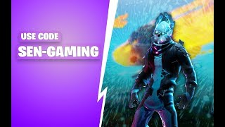 Fortnite India Live Stream | Use Code SEN-GAMING | Sub Goal = 2100