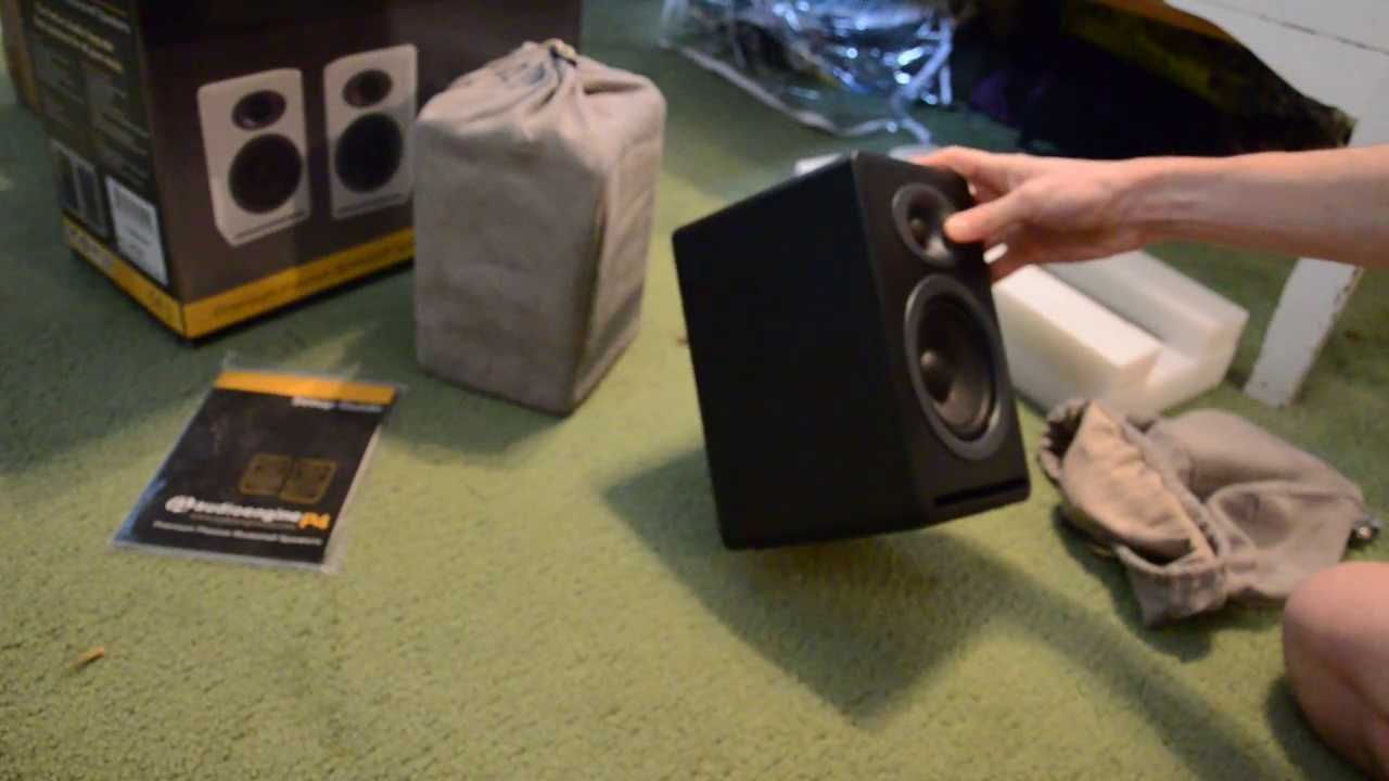 Audioengine P4 Unboxing
