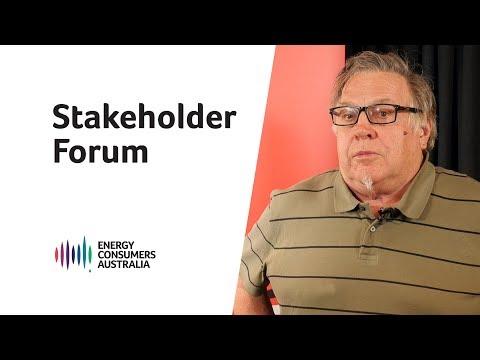 Stakeholder Forum: Canberra