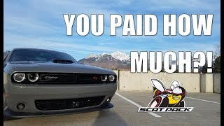 WHY I BOUGHT THE DODGE CHALLENGER 392 HEMI SCAT PACK SHAKER + ALL THE FEATURES + HOW MUCH I PAID