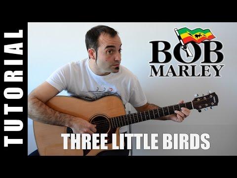 Three little birds - Bob Marley EASY CHORDS Demo Cover Lyrics and Chords guitar