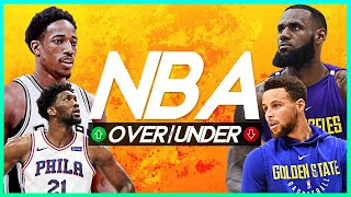 NBA OVER/UNDER 2018-19 SEASON - All NBA Podcast