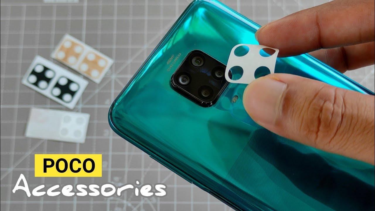 Poco M2 Pro (Note 9 Pro/Pro Max) CAMERA LENS Protection_ Accessories for Poco M2 Pro