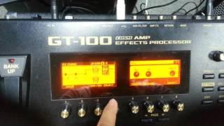 BOSS GT100 -  Chỉnh tiếng, cắt hú, cắt noise