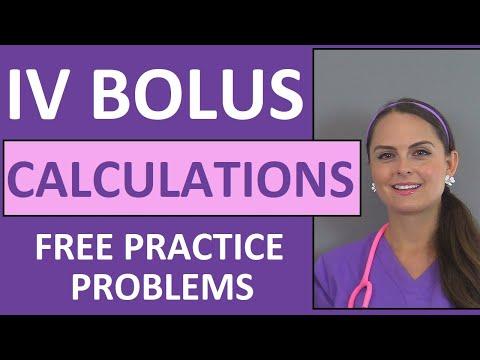 dosage-calculations- -nursing-drug-calculations- -iv-medications-problems-nursing-school-(vid-2)