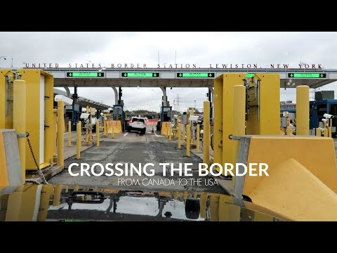 CROSSING THE BORDER FROM CANADA TO THE USA / Nishi V