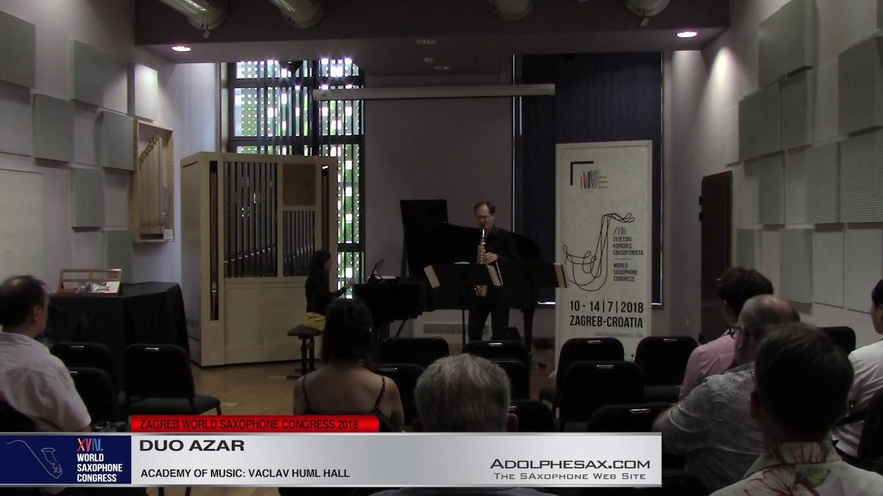act V by Yumiko Yokoi    Duo Azar   XVIII World Sax Congress 2018 #adolphesax