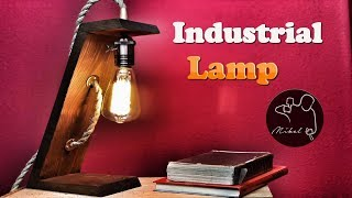 Industrial Lamp Diy, very easy
