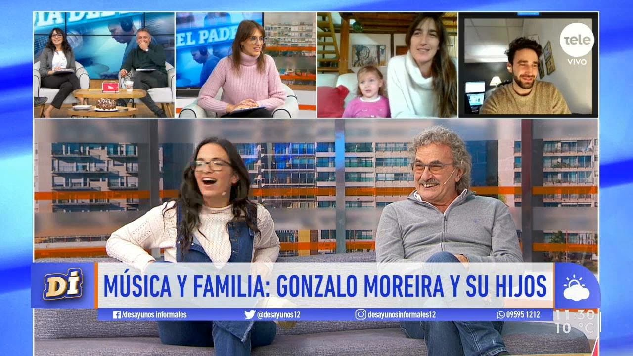 Música y familia: Gonzalo Moreira y sus hijos
