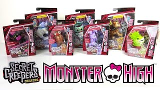 Secret Creepers Monster High Unboxing Review