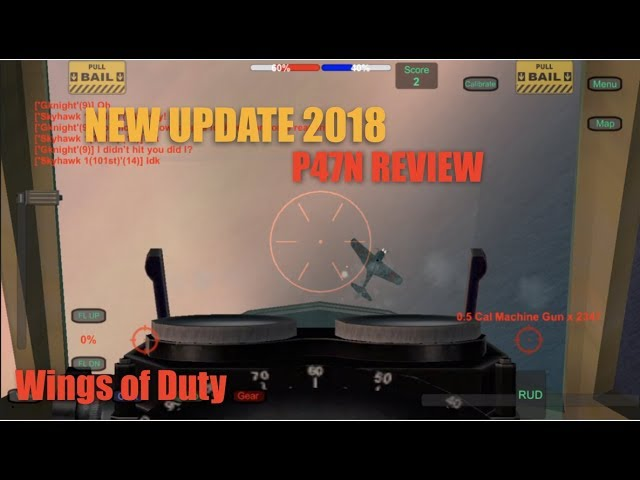 Wings of Duty P47N Review! New Update 2018!