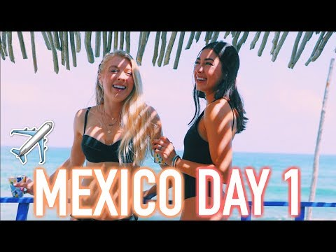 MEXICO DAY 1 - Traveling to Isla Mujeres, Mexico!