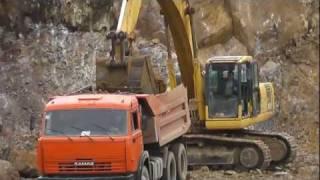 Карьер по добычи и переработке щебня в Томске.(ООО
