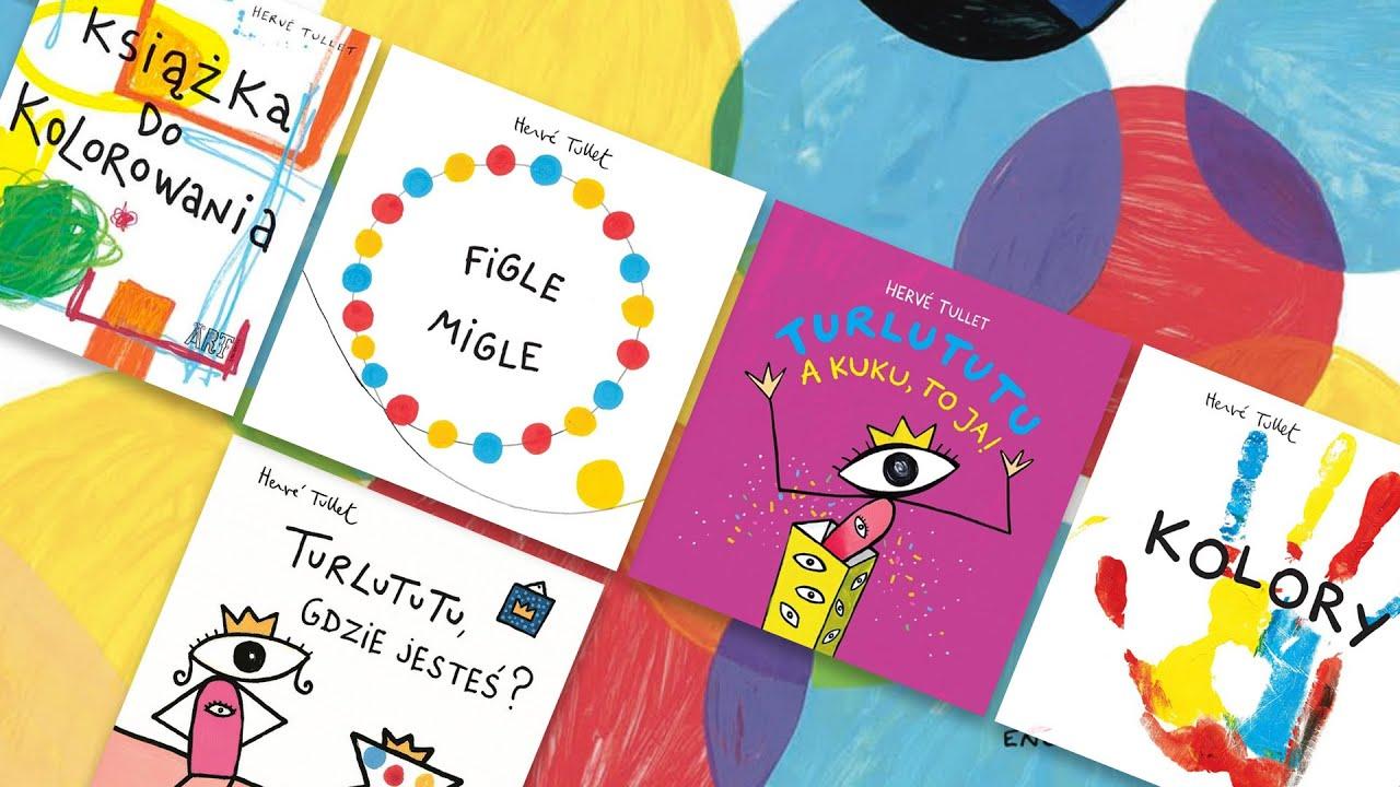 Znalezione obrazy dla zapytania książkami dla dzieci tullet