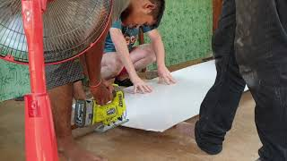 House building Cambodia