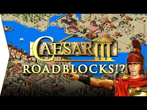 Roadblocks in Caesar 3!? ► AND MORE - Finally after 20 years - [Julius Open Source Mods]