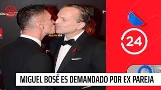 Miguel Bosé es demandado por su ex pareja tras 26 años de relación